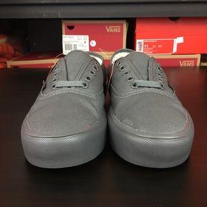 4f1726451e Vans Shoes - Vans Authentic Lite Mono Gargoyle Womens New